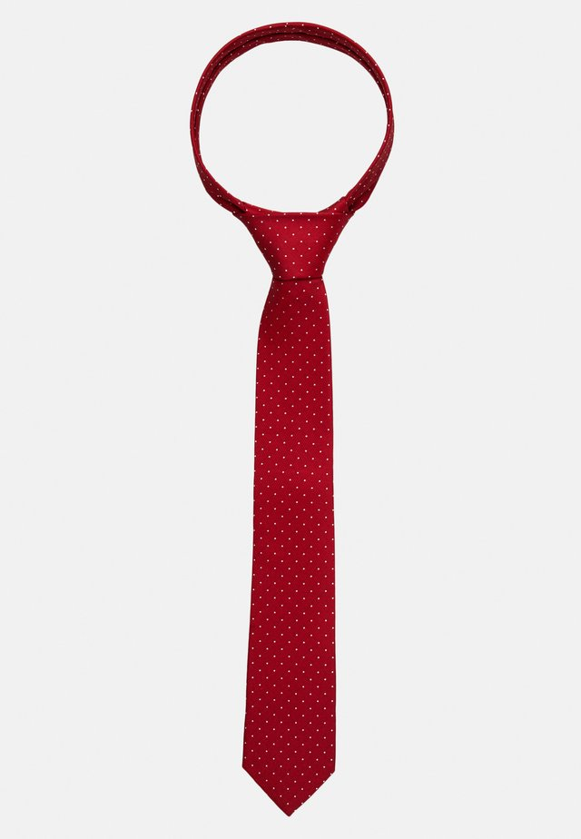 DOT TIE  - Tie - red