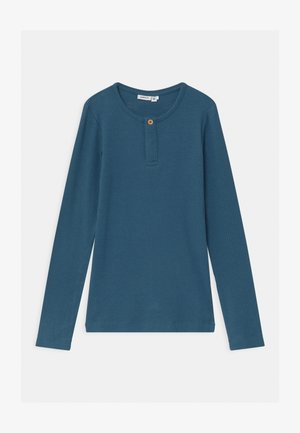 NKMKABILLE SLIM - Long sleeved top - real teal