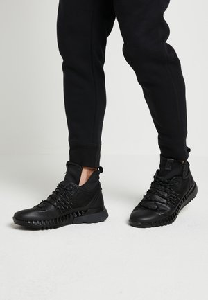 ZIPFLEX - High-top trainers - black