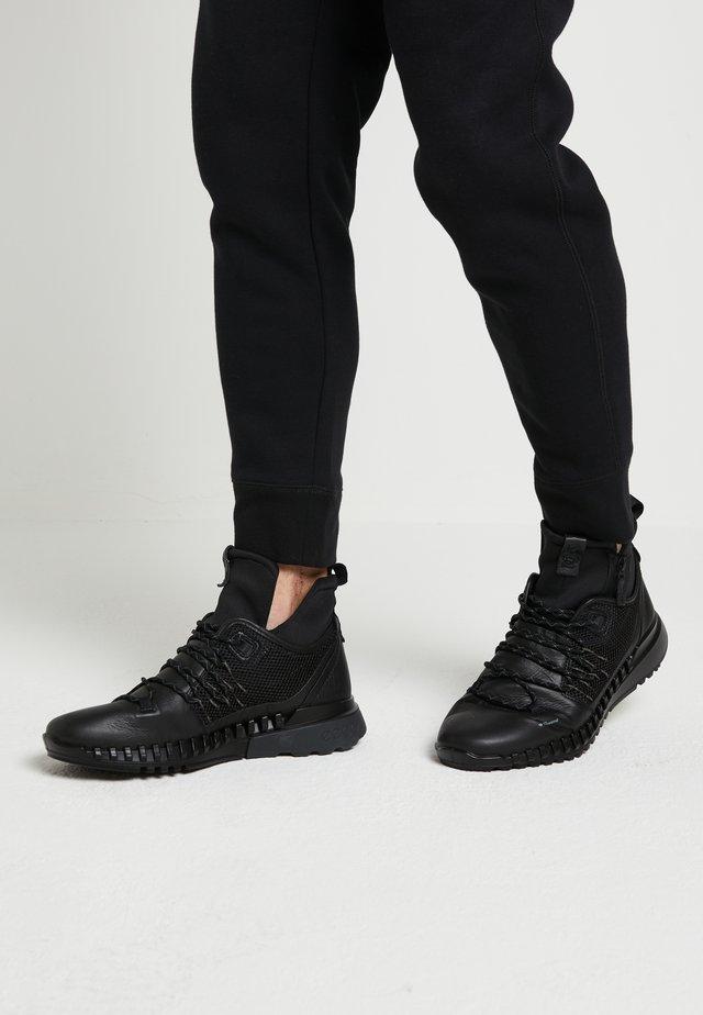 ZIPFLEX - Sneakersy wysokie - black