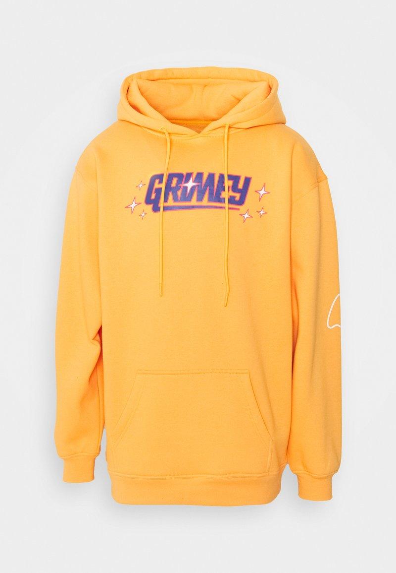 Grimey - UBIQUITY HOODIE UNISEX - Sweatshirt - orange