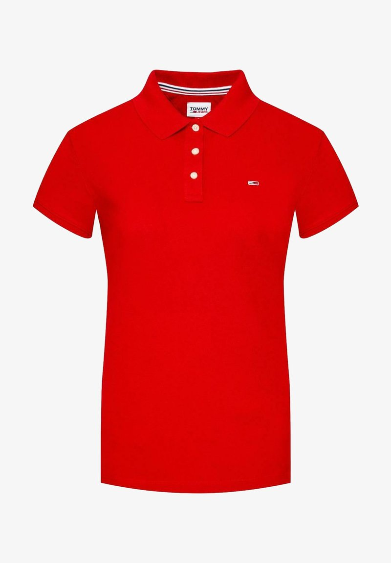 Tommy Jeans - Polo shirt - red
