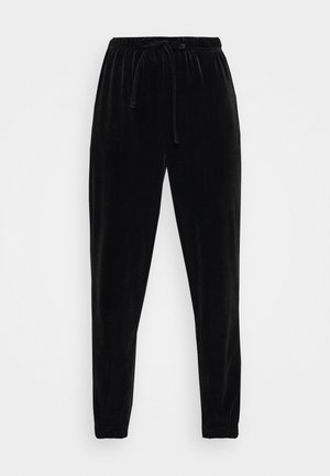 PCGIGI PANTS - Tracksuit bottoms - black