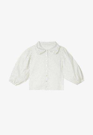 MIT BUBIKRAGEN - Hemd - white