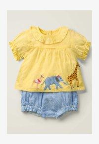 Boden - WEBSPIELSET - Shorts - blue, light pink - 0