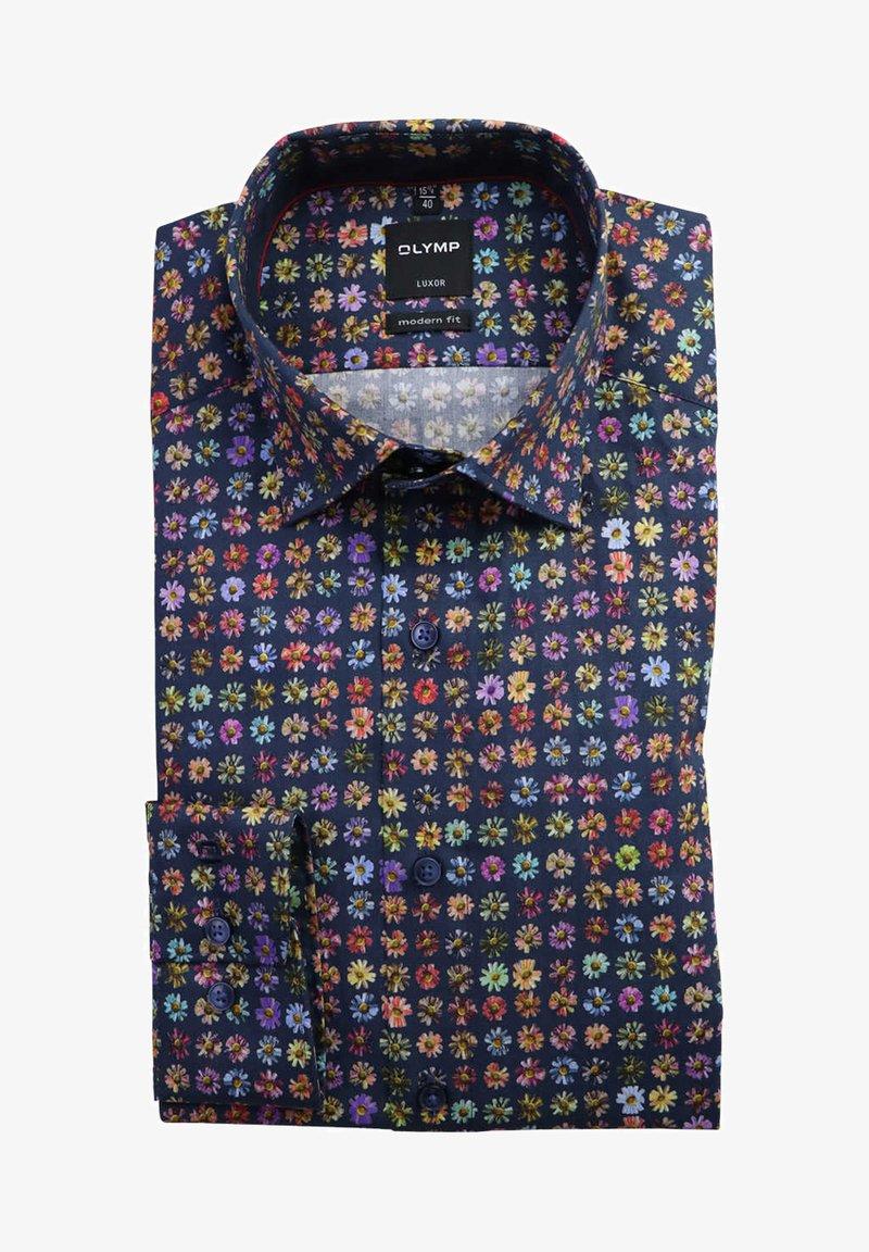 OLYMP - MODERN FIT  - Shirt - dunkelblau