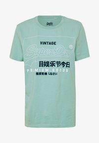 Print T-shirt - fresh mint