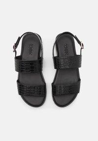 Zign - UNISEX - Sandals - black - 3
