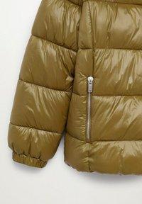 Violeta by Mango - MIT SEITLICHEN ZIPPERN - Winter jacket - mittelbraun - 5