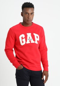 GAP - ORIGINAL ARCH CREW - Bluza - pure red - 0