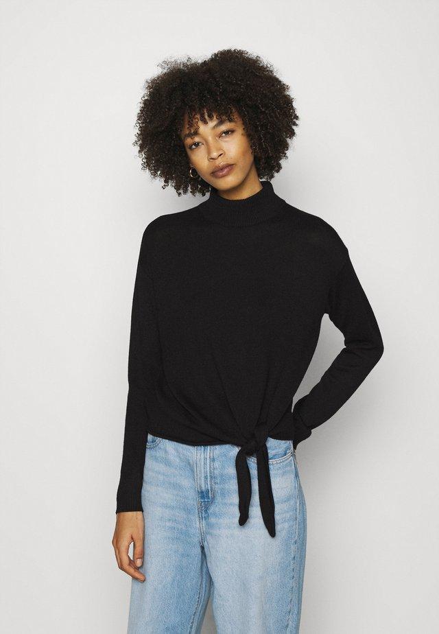 POTEN - Sweter - black