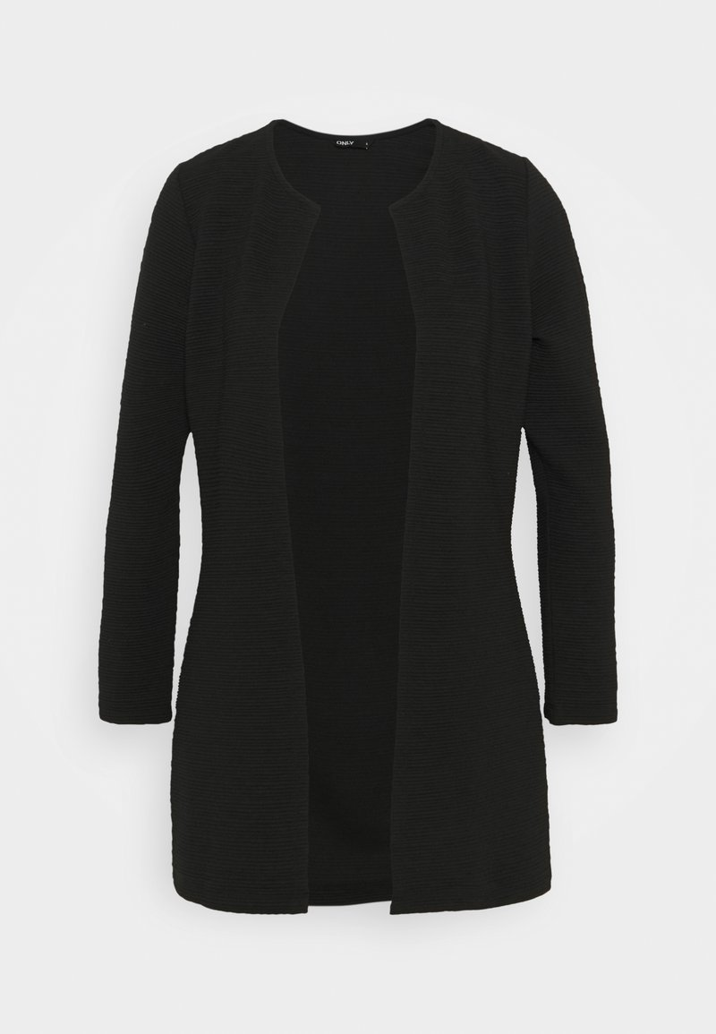 ONLY Tall - ONLLECO LONG CARDIGAN - Cardigan - black