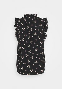 kate spade new york - DITSY BEGONIA TIE NECK SHELL - Blouse - black - 1