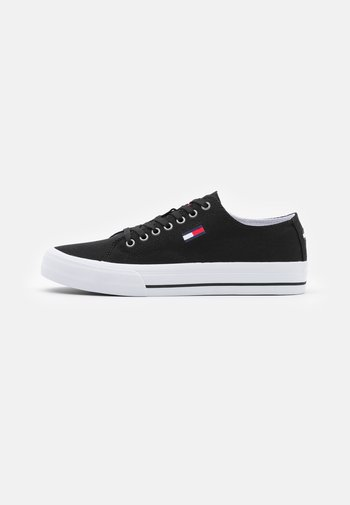 LONG LACE UP - Sneakers - black