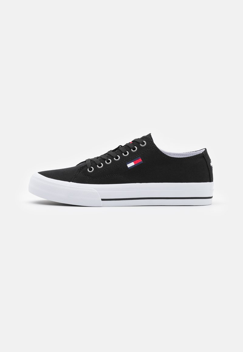 Tommy Jeans - LONG LACE UP - Sneakers - black