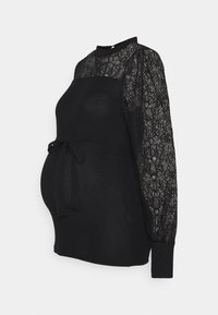 MAMALICIOUS - MLACACIA - Long sleeved top - black - 0