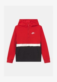 Nike Sportswear - CLUB - Hoodie - university red/black/white - 0