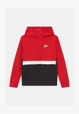 CLUB - Kapuzenpullover - university red/black/white