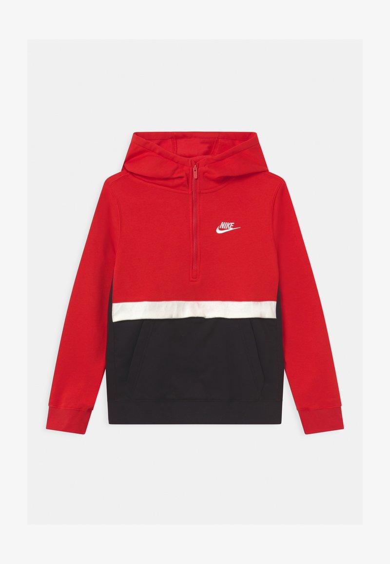 Nike Sportswear - CLUB - Jersey con capucha - university red/black/white