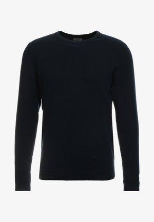 JJEBASIC - Stickad tröja - navy blazer