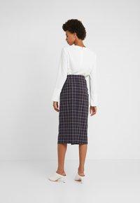 Strenesse - SAROTA - Pencil skirt - dark blue - 2