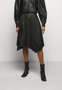 DESIGNERS REMIX - MARIE PLEATED SKIRT - Jupe plissée - black - 0