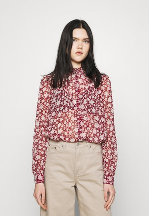 PLEAT - Blouse - cabernet