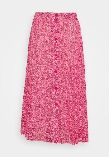 PLEAT SKIRT - A-line skirt - pink