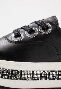 KARL LAGERFELD - KOBO KUP 3 EYE TIE - Sneakers basse - black - 2