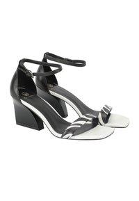 Ekonika - High heeled sandals - zebra black - 6