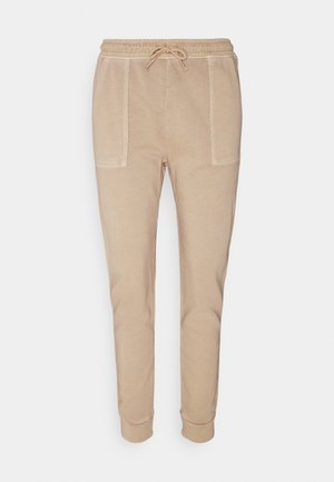 PANT WASH - Tracksuit bottoms - sand
