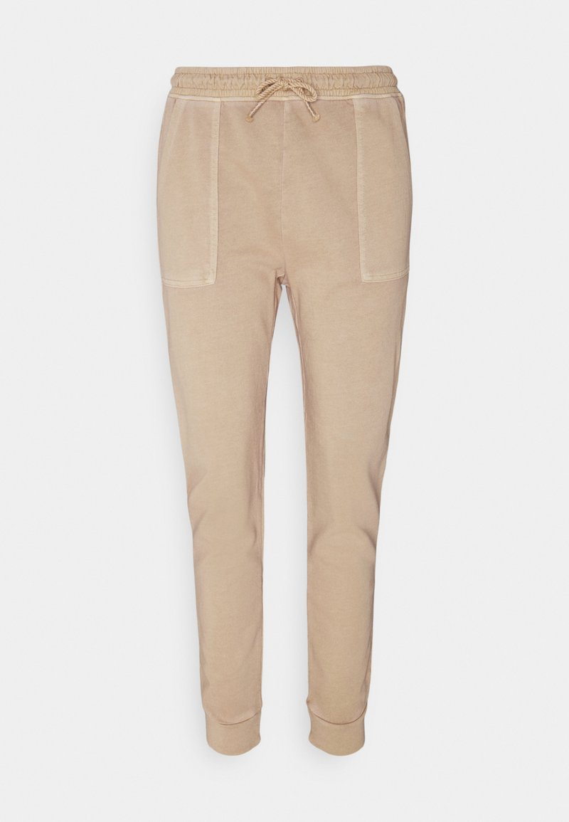 Esprit - PANT WASH - Tracksuit bottoms - sand
