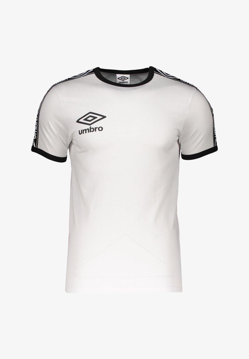 Umbro - RINGER - Print T-shirt - weissschwarz