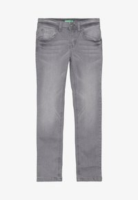 Benetton - TROUSERS - Jeansy Slim Fit - grey - 2