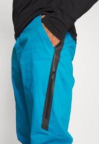 Salewa - AGNER - Spodnie materiałowe - blue danube - 3