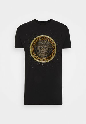 LION TEE - Print T-shirt - black