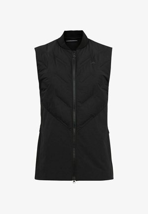 SHIELD HYBRID - Waistcoat - black