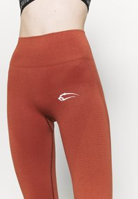 Smilodox - SEAMLESS DAMEN BLOOM - Trikoot - orange - 4