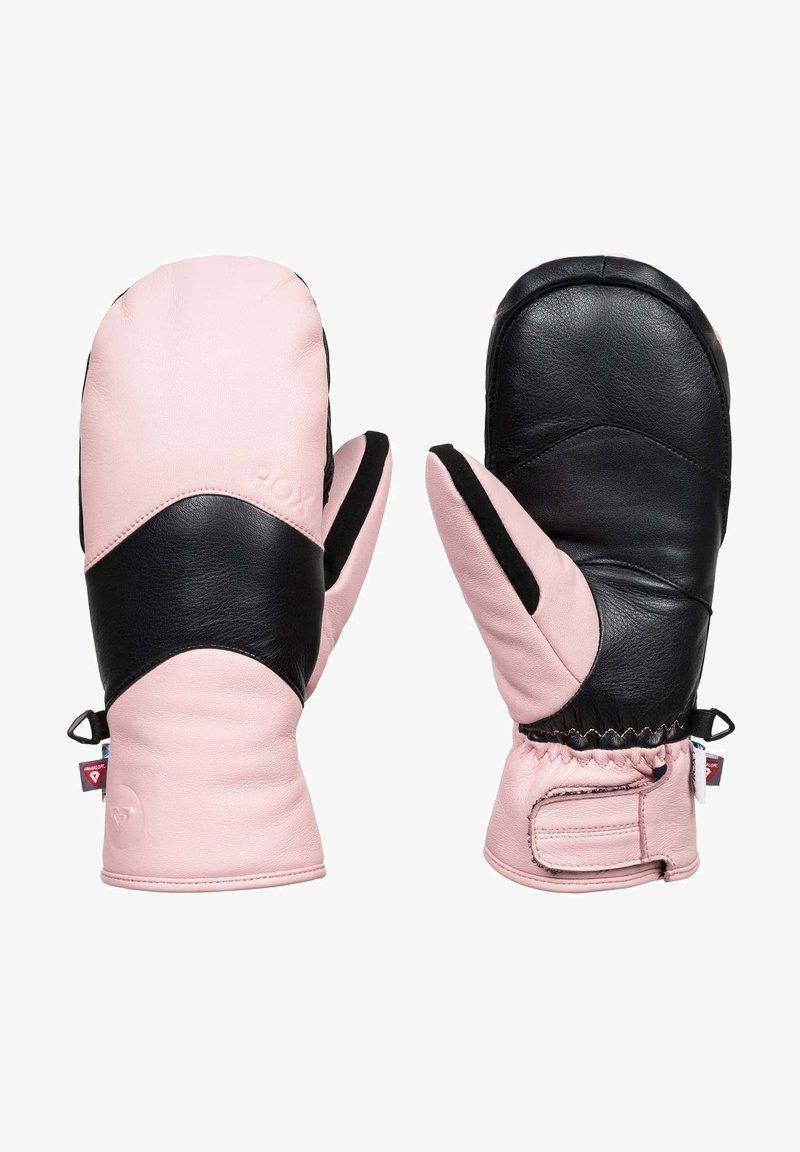 Roxy - Mittens - silver pink