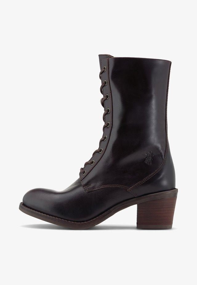 ZETA - Lace-up boots - dunkelbraun