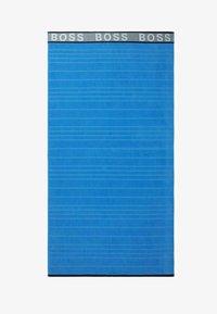 BOSS - STRANDTUCH STRIPED LOGO - Plážová osuška - blue - 0