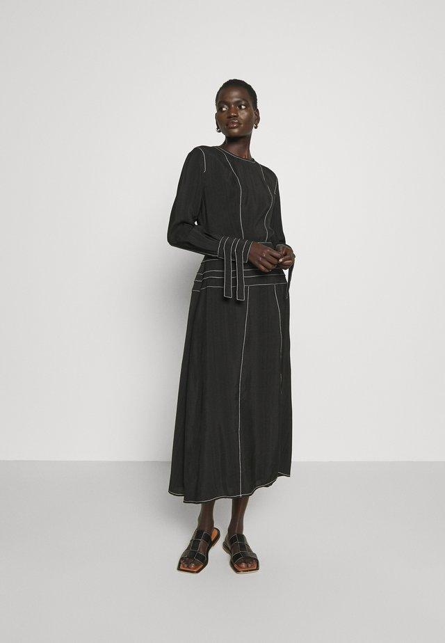 LINDA DRESS - Korte jurk - black