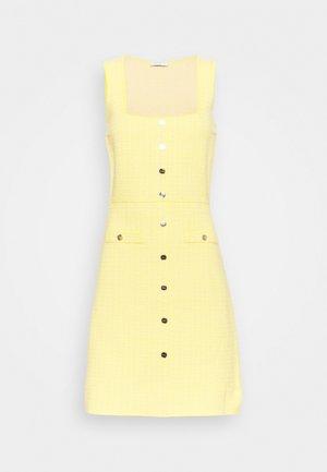 CANNELLE - Shirt dress - jaune
