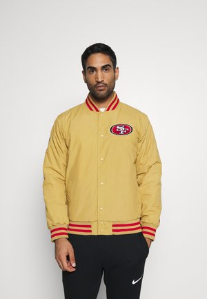 NFL SAN FRANCISCO 49ERS NFL TEAM WORDMARK - Training jacket - gold