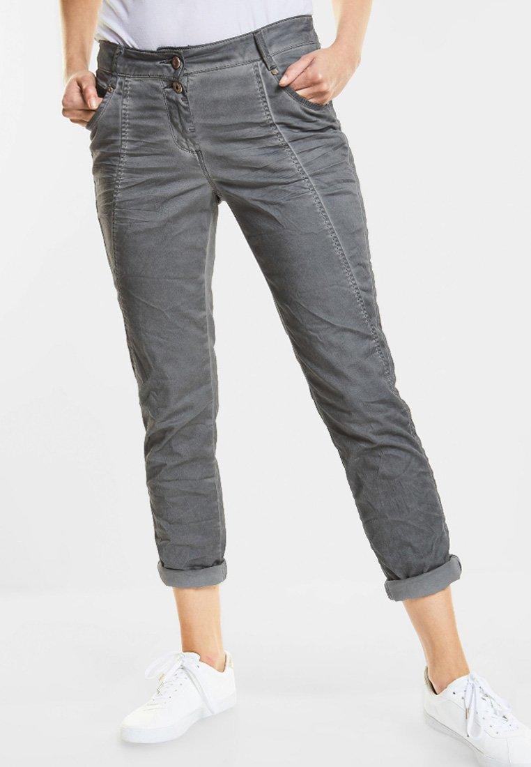 Cecil - NEW YORK - Trousers - grau