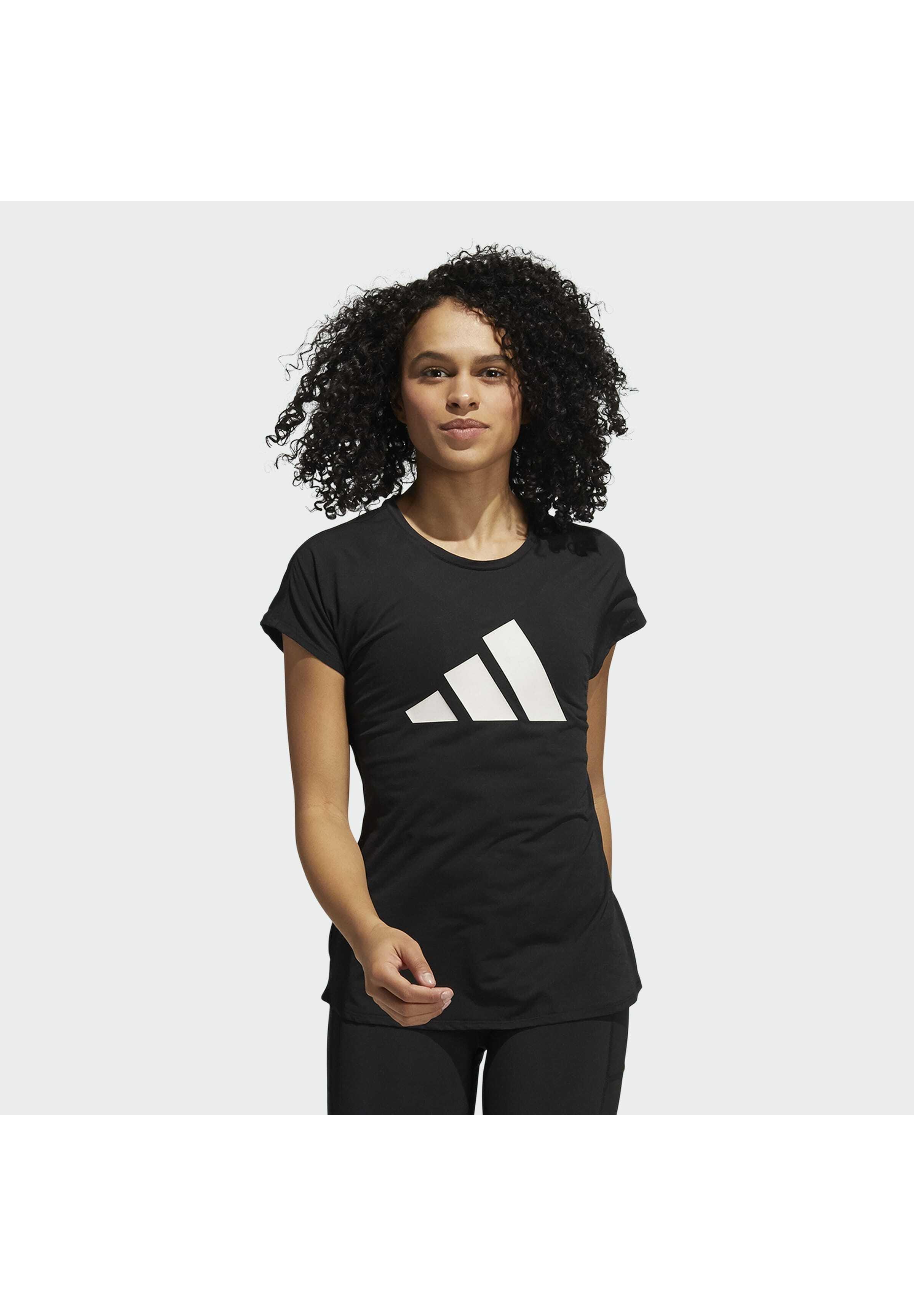 Donna 3 BAR DESIGNED4TRAINING AEROREADY - T-shirt con stampa