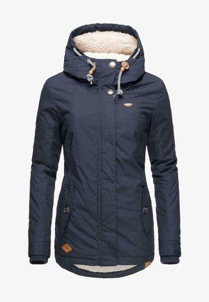 MONADE - Winter coat - blau