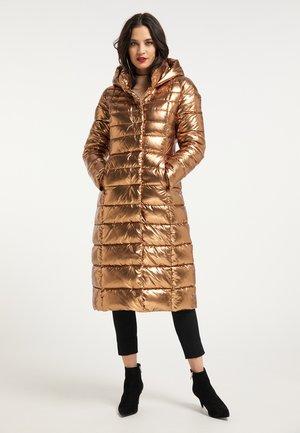 Down coat - gold