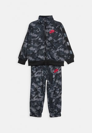 CAMO TRICOT SET - Trainingsanzug - black