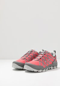 Columbia - Hiking shoes - juicy/pure silver